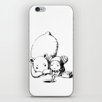 fishing iPhone & iPod Skins featuring Fishing by Freeminds