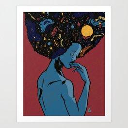 I Contain Galaxies Art Print