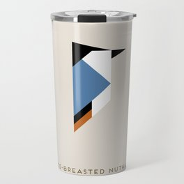 White-Breasted Nuthatch Travel Mug