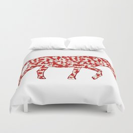 year of the horse: part 3 Duvet Cover