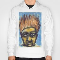 indonesia Hoodies featuring Surf's Up ~ Indonesia Art by Ali by FiVe