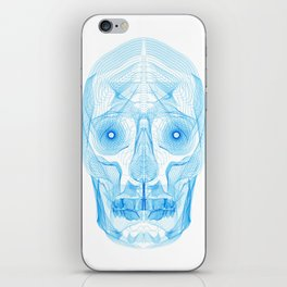 Digital Skull iPhone Skin
