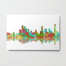 Brisbane Skyline 2 Metal Print
