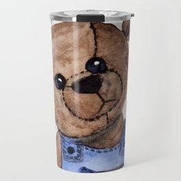 Thoughtful Teddy Travel Mug