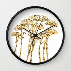 PAPERCUT FLOWER 2 Wall Clock