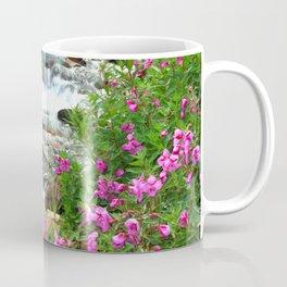 Flowers and flowing Canadian stream Coffee Mug