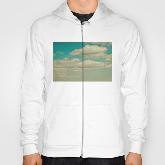 light blue sky Hoody