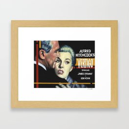 Vertigo poster version Framed Art Print