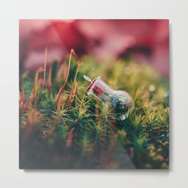 Love in a Bottle. Metal Print