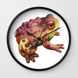 Brown Magic Toad Wall Clock