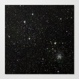 Space - Stars - Starry Night - Black - Universe - Deep Space Canvas Print