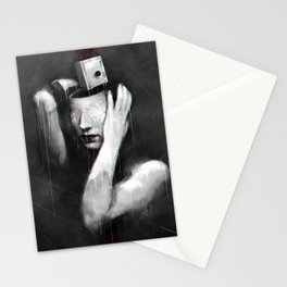 Coat of lies Stationery Cards