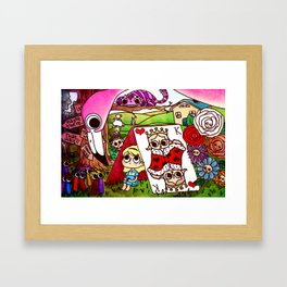 Lost in Wonderland Framed Art Print