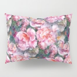 Pink floral pattern Pillow Sham