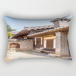 Scholar's Area, Changdeokgung Palace, Seoul Rectangular Pillow