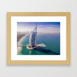 Burj A Arab Framed Art Print