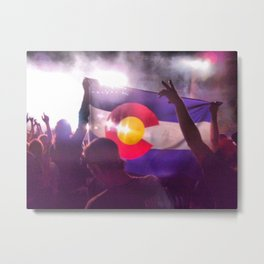 Colorado Love Metal Print