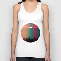 portugal Tank Tops featuring Portugal Mountains by Joana Sa