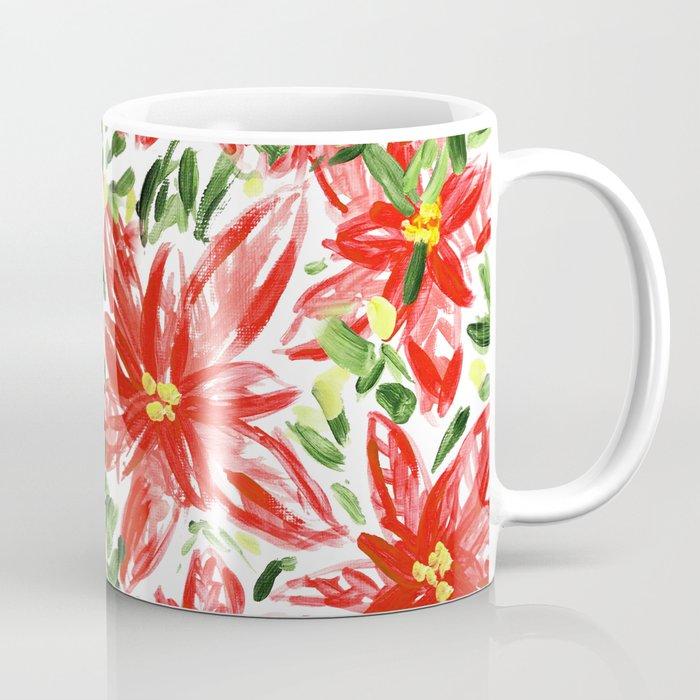 Pretty Poinsettias Coffee Mug