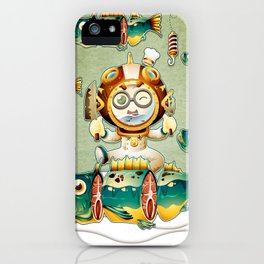 The undersea chef iPhone Case
