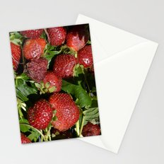 Strawberry time Stationery Cards