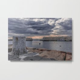 Cloudy afternoon at Lanes Cove 2392 Metal Print