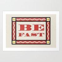 B-FAST Art Print