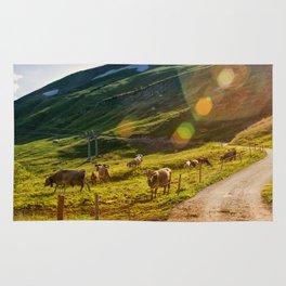 Summer Mountain Pasture Rug