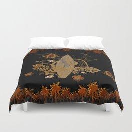 Hawaiian, tropical design Duvet Cover