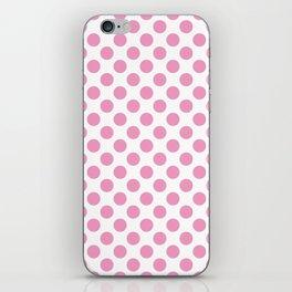 Light Pink Polka Dots iPhone Skin