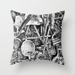 Italian Ruins Throw Pillow
