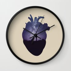 We Are All Made of Stars Wall Clock