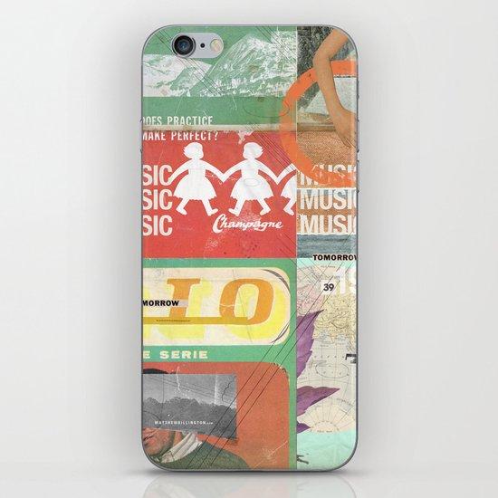 Music, Music, Music iPhone & iPod Skin