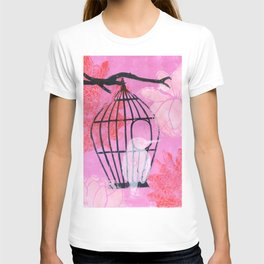 stuck in the moment: japanese style: linoprint T-shirt
