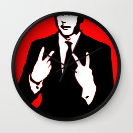 Sickboyfilms Logo Wall Clock