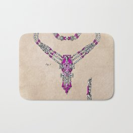 patent Necklace or the like Bath Mat