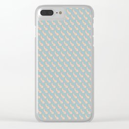 Practically Perfect - Penis in Blue Clear iPhone Case