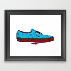 Zombie Vans Framed Art Print