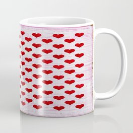 "Rustic ""Tiny Hearts"" Sign Coffee Mug"