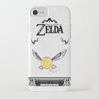 legend of zelda iPhone & iPod Cases featuring Zelda legend - Navi by Art & Be