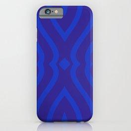 Bluesy Twist iPhone Case