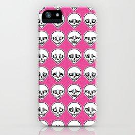 Skull Feels iPhone Case