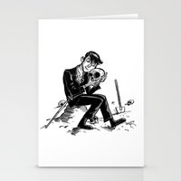 hamlet Stationery Cards featuring Hamlet by Mike Laughead
