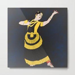 Mohiniyattam Classical Dance Kerala India Metal Print