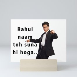 shah rukh khan Mini Art Print