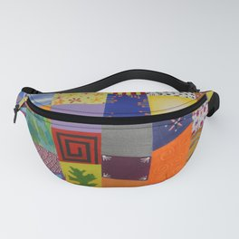 Party patchwork Fanny Pack