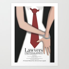 Lawyers & OCD Art Print