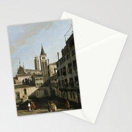 Bernardo Bellotto - Campo San Stin, Venice Stationery Cards