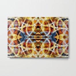 Abstract graffiti pattern Metal Print