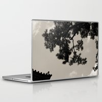 japan Laptop & iPad Skins featuring japan by noirblanc777